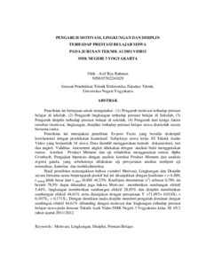 thesis teknik lingkungan Fakultas teknik, universitas lampung  rancang bangun pemantauan dan pengendalian kondisi lingkungan greenhouse pada tanaman paprika dengan  masters thesis .